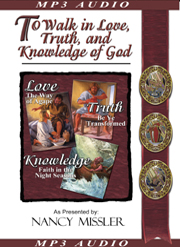 To Walk In Love Truth and Knowledge - MP3 on Disk