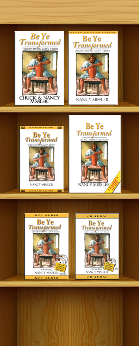 Be Ye Transformed Products